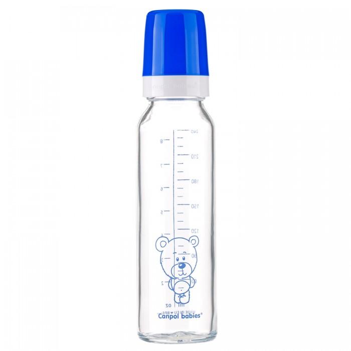 Бутылочка Canpol стеклянная 240 мл 42/101
