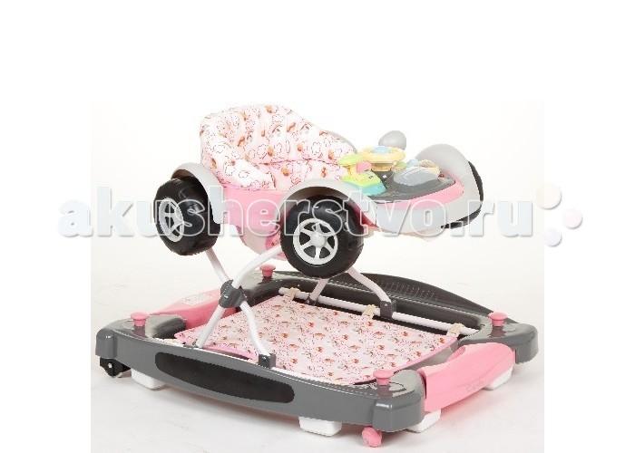 Ходунки Capella BG-0710BG-0710Capella BG-0710 - ходунки рекомендованы для детей в возрасте от 6 месяцев до 1.5 лет. Оснащены колесами, для удобства использования имеются стопоры на колесах, благодаря которым вы можете контролировать передвижение ребенка. Регулируются по высоте в 3 положениях. Есть режим качалки. Легкая рама. Широкое основание для максимальной устойчивости. Игровой центр легко снимается, после чего можно пользоваться как столиком. На игровом центре имеются несколько развивающих игрушек, в т.ч. музыкальная. Мягкое сидение можно снять и постирать. Ходунки компактно складываются гармошкой для перевозки и хранения. Силиконовые колеса не будут царапать поверхность. Имеют стопоры. Рекомендуемый возраст 6-18 месяцев. Изготовлены из высококачественных материалов.  Вес: 5 кг  Размеры : 70 х 65 х 54 см<br>