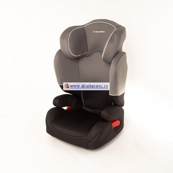 Автокресло Capella S2311 - CapellaS2311Автокресло создаст вашему крохе комфорт, максимальную безопасность и уют во время путешествия или просто поездок.  У модели приятная расцветка чехла, он изготовлен из воздухопроницаемой ткани, который можно с легкостью снять и постирать в стиральной машине на щадящем режиме.  У кресла регулируется спинка в 4 положениях, подголовник в 3 положениях.  Выполнено кресло из прочного пластика, тем самым защищает ваше чадо от внезапных ударов, повреждений.  Автокресло просто крепится в машине, обладает интересным дизайном и отвечает всем требованиям безопасности.  Вид крепления - штатным ремнем автомобиля  Способ установки - лицом по направлению движения<br>