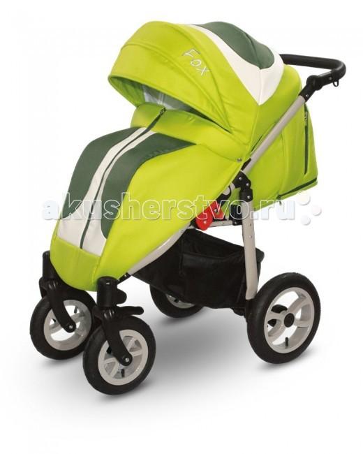 Прогулочная коляска Car-Baby FoxFoxCar-Baby Fox - коляска выполнена из материалов высочайшего качества. Эта коляска является отличным вариантом как для прогулок по городским улицам, так и для долгих прогулок на природе.  Коляска прогулочная Car-Baby Fox установлена на четырехколесную базу, передние колеса меньшего размера, поворотные с фиксацией, что повышает проходимость и маневренность коляски.  Большой капюшон отлично защищает малыша от ветра, дождя и солнца.  Для удобства родителей предусмотрена регулировка ручки по высоте. Имеется вместительная текстильная корзина для покупок и игрушек.  Характеристика: Чехол на ножки Поворотные передние колеса с возможностью блокировки Регулируемая подножка Удобный задний тормоз Регулировка сиденья, ремни, ручки, направляющие Вместительная корзина в нижней части коляски Вес в сборе: 9 кг Размеры (сложена): 86х56х38 см Ширина шасси: 56 см Размеры (разложена): 86х56х111 см Колеса: надувные;  Фиксация передних колес;  Поворотные колеса;  Материал рамы: алюминий;   В комплекте: сумка для мамы, дождевик и москитная сетка.<br>
