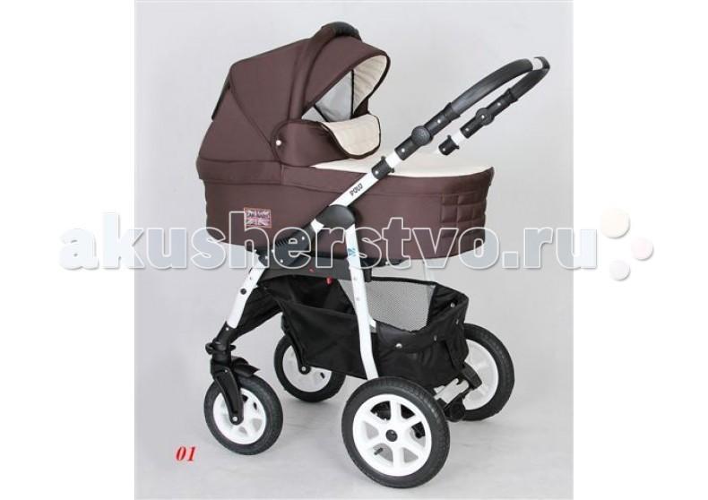 Коляска Car-Baby Polo 2 в 1Polo 2 в 1Коляска Car Baby Polo -  создана для удобных прогулок по любой местности в абсолютно любых условиях. Функция «поворот на 360 град.» на передних колесах улучшает ее маневренность, благодаря чему вам будет очень удобно гулять по магазинам, ведь Car Baby Polo 2 в 1 можно поворачивать одной рукой.  Задние колеса уверенно справляются с бездорожьем. Ручка настраивается по высоте.  Также, детская коляска Кар Беби Поло 2 в 1 имеет дополнительную амортизацию для плавного хода по рельефным поверхностям.  Люлька Car Baby Polo: вместительные внутренние размеры встроенная москитная сетка для вентиляции ручка для переноски   Прогулочный блок Car Baby Polo: установка в двух направлениях (по ходу или против движения) регулирование подставки для ножек многоступенчатая регулировка капюшона<br>
