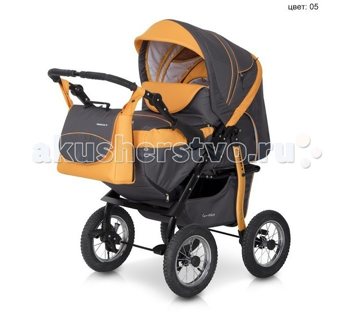 Коляска-трансформер Caretto Rocky PCRocky PCКоляска Rocky PC - детская коляска, сочетает в себе функции спального варианта и прогулочного блока. Для новорожденных малышей предусмотрена переносная люлька, которая вставляется в коляску. Затем, когда ребенок станет постарше можно обойтись без мягкой люльки и воспользоваться утепленным чехлом на ноги. Помповые колеса с подшипником.  Изделие предназначено для детей от 0 мес. до 3-х лет (максимальный вес ребенка 15кг). Устройство сиденья коляски позволяет регулировать спинку и подножку.  Характеристики: Окрашенная рама Переносной конверт Перекидная ручка Регулируемая по высоте ручка Пружинный механизм амортизации Независимые тормоза на всех колесах Регулируемые амортизаторы Регулируемая спинка Регулируемая подножка Пятиточечные ремни безопасности Вентиляционные окна Накидка на ноги Сумка Солнцезащитный козырек Корзина для багажа Тип колеса: Помпа, металл + подшипник Диаметр колеса (мм): 280 мм  Вес 18.5 кг<br>