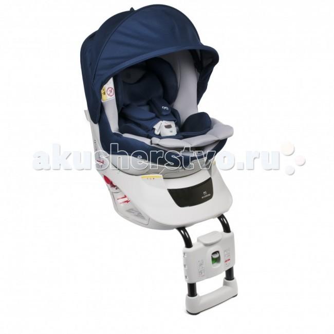 Автокресло Carmate Kurutto NT2 PremiumKurutto NT2 PremiumУникальное детское автокресло Kurutto Premium с поворотной чашей на 360°. Кресло оснащено тепло и влагоотводящим вкладышем для новорожденного, который идеально поддерживает тело ребеночка, равномерно распределяя нагрузку, оставляя при этом абсолютно расслабленными все суставы. Имеет съемный солнцезащитный зонтик, защищающий ребенка, независимо от того, как установлено кресло и с какой стороны светит солнышко.  Безопасность кресла подтверждена результатами многочисленных краш-тестов, проведенных независимой японской национальной компанией экспертов NASVA.   Основные характеристики:  - Анатомический вкладыш для новорожденного, тепло и влагоотводящий с эффектом маминой руки, формирует ровное комфортное ложе для младенца, идеально поддерживает тело ребеночка, равномерно распределяет нагрузку, оставляя при этом абсолютно расслабленными все суставы; - Съемный солнцезащитный капюшон, защищающий малыша, независимо от того, как установлено кресло и с какой стороны светит солнышко - задерживает 99% UV; - Чаша кресла очень просто поворачивается в любую сторону на 360°, что позволяет легко укладывать (усаживать) малыша в кресло; 100% прослойка виброгасящего материала; Конструкция кресла обеспечивает возможность его крепления с любой стороны авто; - Дополнительный упор кресла в пол выполнен не в форме трубки, а имеет П-образную форму, обеспечивая тем самым большую площадь опоры, и максимально предотвращает опрокидывание кресла; - Подставка для ног не является дополнительной опцией и предусмотрена конструкцией кресла. Она используется для самостоятельно сидящего ребенка, придает ему уверенность, обеспечивает удобное положение; Для обеспечения максимального комфорта ребеночку в дороге, под тканевую обивку внутри кресла помещена подушка Ultra Cushion из специального виброгасящего материала; - Регулируемый 3 уровневый наклон - регулировки легкодоступны, выполняются плавно, в том числе и с сидящим в кресле малышом; - Удерживающ