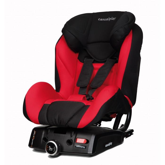 Автокресло Casualplay Q-RetractorQ-RetractorQ-Retractor автокресло с автоматической блокировкой ремней безопасности. Благодаря использованию специального ретрактора, ремни безопасности автокресла работают по тому же принципу, что и ремни безопасности автомобиля. Функция преднатяжения ремней обеспечивает ребёнку наибольшую безопасность:на 30% снижается риск неправильного положения ребёнка в кресле и на 25% уменьшается ускорение головы и тела, что в совокупности снижает риск травмирования при экстренном торможении или аварии. Ремни автоматически позиционируют маленького пассажира в кресле наиболее безопасным образом, и никогда не дают слабину, при этом не важно сколько одежды надето на ребёнке. В отличие от кресел, оборудованных ремнями с ручной регулировкой натяжения, Q-Retractor освобождает родителей от множества забот и волнений относительно безопасности.   Особенности:   - При регулировке подголовника по высоте происходит одновременная регулировка ремней безопасности по уровню.  Эксплуатация кресла становится ещё более удобной, так как оно растёт вместе с ребёнком.  - Упор-нога (приобретается дополнительно).  - Крепления Isofix.  - Точка крепления якорного ремня (top tether). Входит в стандартный комплект поставки.  - Многопозиционная регулируемая спинка.  - Текстильная обивка легко снимается, и её можно стирать в машине при 30° С в режиме бережной стирки.  - Абсолютная защита Вашего малыша: Специальная высокоэргономичная обивка со сверхмягкими защитными элементами, расположенными на подголовнике, спинке и боковых частях, прекрасно поглощает энергию удара.<br>