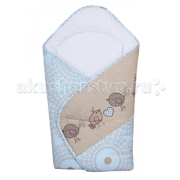 Ceba Baby Одеяло-конверт Birdies (принт)Одеяло-конверт Birdies (принт)Ceba Baby Одеяло-конверт Birdies  Особенности: уютное и практичное одеяло-конверт для новорождённого;  удобная застёжка на липучке;  изготовлен из 100% хлопка, изнутри отделан мягким хлопковым трикотажем, дополнительно утеплён;  конверт украшен красочным принтом;  размер одеяла в разложенном виде: 74х74 см.<br>