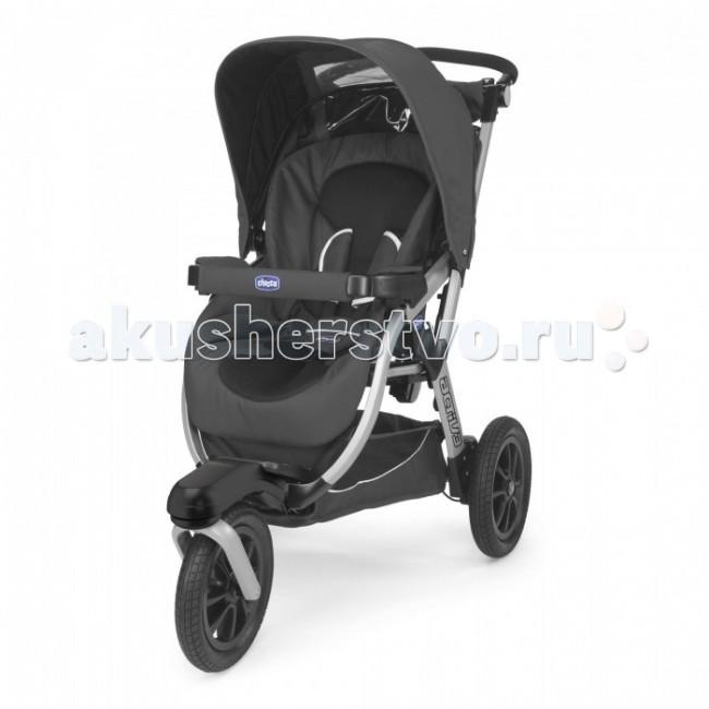 Прогулочная коляска Chicco Activ3Activ3Прогулочная коляска Chicco Activ3 - коляска повышенной комфортности.   Большие колеса позволяют путешествовать по бездорожью, а стильный дизайн не оставит равнодушными даже самых привередливых родителей.  Характеристики прогулочной коляски (шасси):  четыре положения спинки сиденья легкий каркас из алюминиевых труб оригинальная конструкция рамы позволяет легко заезжать на бордюры и пр  удобная ручка с возможностью регулировки по высоте (95-112 см) регулировка подножки 2-ва положения спинка опускается в горизонтальное положение ручной тормоз и спаренный ножной стояночный тормоз переднее колесо вращается на 360° двухпозиционная система амортизации коляски дополнительный вкладыш с регулируемым по высоте подголовником  позволяет чувствовать себя комфортно ребенку любого возраста 5-ти точечный ремень безопасности для ребенка ультракомпактная в сложенном виде корзина для покупок дорожный карман для мелочей дождевик в комплекте  Высота спинки сиденья: 50 см Длина сиденья от спинки до колена: 27 см Ширина плеч: 28 см Длина от колен до ступней: 14 см Ширина ниши для ног: 20 см<br>