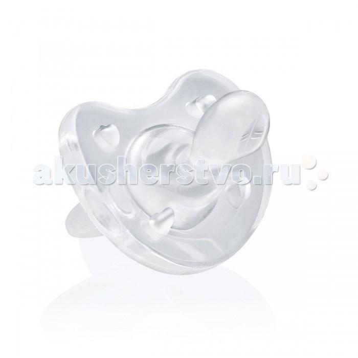 Пустышка Chicco Physio Soft силикон 4+