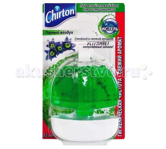 Chirton Подвесной гелевый блок для чистки унитаза 55 мл с корпусом