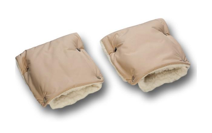 Чудо-чадо Муфты-рукавички меховые однотонные