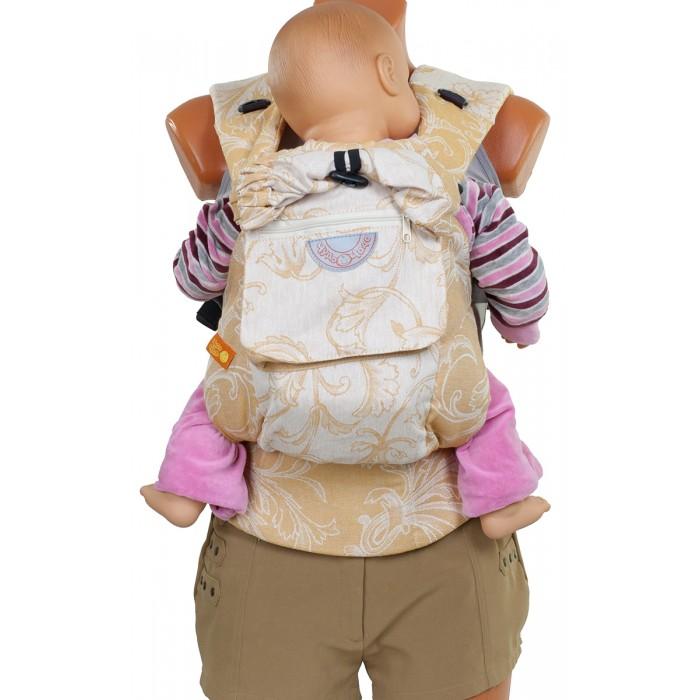 Рюкзак-кенгуру Чудо-чадо Слинг-рюкзак РенессансСлинг-рюкзак РенессансСлинг-рюкзак Ренессанс Чудо-чадо  Классический слинг-рюкзак  Классический слинг-рюкзак (без положения лицом вперед) выполнен из двухсторонней ткани с растительным рисунком. Благородный и спокойный, подчеркнёт вкус мамы, удобен для переноски малышей от 4 мес. до 15 кг.  Малышу спокойно и безопасно Мы думаем о свободолюбивых малышах и внесли небольшие изменения в крой. Как и другие слинг-рюкзаки, «Ренессанс» прижимает малыша к родителю, и в то же время меньше стесняет ручки ребёнка. По верхнему краю рюкзака сделан мягкий валик, чтобы спинке малыша было комфортно. Мягкие края сиденья не врезаются в ножки, около лямок проложен синтепон для мягкости.  Родителю удобно  Широкий пояс помогает правильно распределить вес и разгружает спину. Все крепления лямок и края сиденья дополнительно усилены. В лямках рюкзака в качестве наполнителя использована специальная пенка. Она хорошо держит форму, устойчива к самой интенсивной эксплуатации.  Умные детали У рюкзака есть карман для мелочей на спинке. Капюшон поддержит головку во время сна, а также укроет от солнца, ветра и лишних взглядов. Лейбл на светоотражающем материале служит элементом безопасности. На поясе сделаны петельки с пуговками – Вы сможете сложить и закрепить рюкзак на поясе.  30% лён, 70% хлопок  Ткань рюкзака сочетает преимущества льна и хлопка: экологичность, гипоаллергенность, дышимость и прочность. Рюкзак безопасен даже для самой нежной кожи малыша, и в тоже время износостоек, его хватит на самую многодетную семью!  Износостойкость Материал рюкзака (лен с хлопком) износостоек, со временем он станет еще мягче, при этом оставшись прочным. Пенка в плечевых лямках не подвержена разрушению под воздействием воды, моющих средств и ультрафиолетовых лучей. Рюкзак Ренессанс прослужит Вам верой и правдой несколько лет, поддержит и со вторым, и с третьим ребенком!<br>