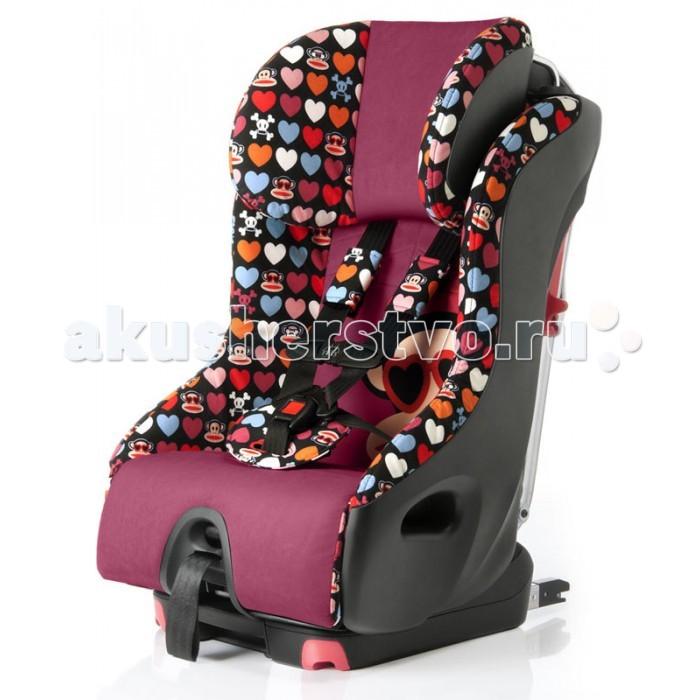 Автокресло Clek Foonf Paul FrankFoonf Paul FrankАвтокресло Clek Foonf Paul Frank — это бескомпромиссное трансформируемое автомобильное кресло компании Clek для детей, в котором воплощены революционные технологии безопасности, это кресло имеет инновационную конструкцию и пригодно для переработки.  Одним из самых эффективных новшеств в автомобильной безопасности является зона деформации — область в автомобиле, которая разработана для того, чтобы деформироваться и сминаться во время аварии.  Зона деформации поглощает энергию удара, не позволяя ему оказывать воздействие на пассажиров.  Кресло Foonf создано для того, чтобы дольше удерживать вашего ребёнка, сидящего лицом против движения (с прилагаемым усилием до 20-ти кг), и защитить его в случае бокового столкновения.  При установке кресла в режиме «лицом против движения» противооткатный бампер улучшает устойчивость, ограничивая вращение детского кресла, и помогает защитить голову вашего ребёнка от удара в случае столкновения.  Особенности: Кресло Foonf имеет усиленный каркас из стали и магния. Пенопластовые слои, находящиеся внутри и снаружи рамы, защищают вашего ребёнка, поглощая энергию, возникающую в случае столкновения, в результате чего на вашего ребёнка воздействует меньшее усилие. Структурный подголовник с широкими боковыми выступами Подголовник с энергопоглощающими пенопластовыми вставками соединён с рамой при помощи металлических стержней, что обеспечивает максимальную защиту головы Cистема жёсткого крепления LATCH, самая лёгкая в установке среди продуктов своего класса, позволяет надлежащим образом и без особых усилий установить детское кресло лицом по ходу движения Foonf имеет ширину менее 17-ти дюймов (43 см), что позволяет установить на заднем сиденье автомобиля до трёх детских автокресел. У кресла Foonf есть легко приводимая в действие функция плавного откидывания, благодаря чему каждая поездка становится более комфортной. Суперткань Crypton® Постоянная защита от пятен, влаги и бактерий. Лёгкая чистка — е