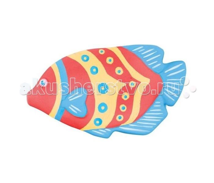 Color Puppy Набор для творчества роспись Цветная рыбка, краскиНабор для творчества роспись Цветная рыбка, краскиНабор для творчества роспись Цветная рыбка, краски предназначен для занятий прикладным творчеством.   В комплекте уже есть гипсовая заготовка, которую необходимо раскрасить. Краски и кисть также имеются в наборе.   Малыш может расписать фигурку рыбки по образцу или по своему усмотрению. Подобные занятия хорошо формируют цветовое восприятие ребенка, а также развивают творческое мышление.<br>
