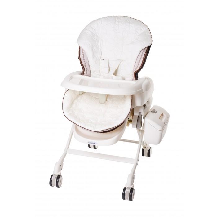 Колыбель Combi Fealetto Auto Swing электронная + стульчик