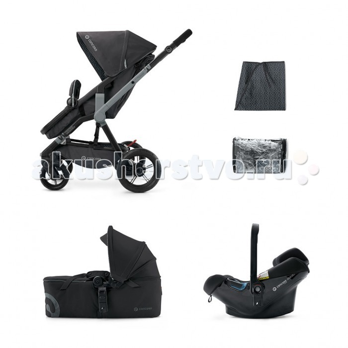 Коляска Concord Wanderer Mobility Set (Scout+Air Safe) 3 в 1