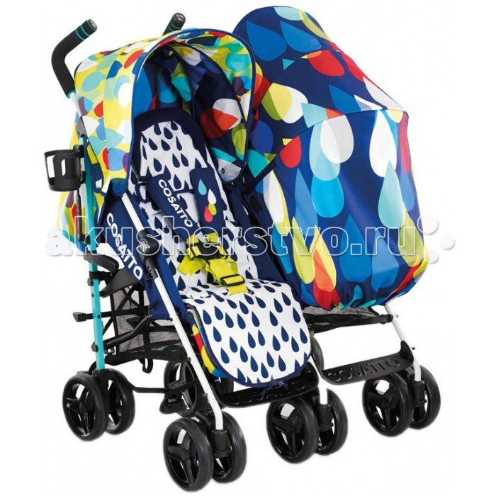 Cosatto Кoляcкa для двoйни To & Fro Duo Twin Stroller