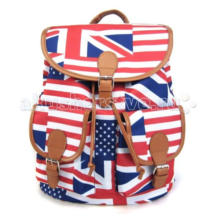 Creative LLC Рюкзак American Flag GL-BC854Рюкзак American Flag GL-BC854Creative LLC Рюкзак American Flag с 2-мя карманами.   Яркая и немного дерзкая вариация на тему расцветки британского флага. Этот рюкзак – точно выделит своего владельца из толпы и привлечет к немумножество заинтересованных взглядов.    Особенности: Милая и очаровательная модель, которая сразу же привлекает внимание и поднимает настроение!  Удобный рюкзак с классическим кроем, застежкой на клапан и двумя карманами впереди станет надежным и постоянным спутником для своего владельца.   Размер: 39х35х17  см<br>