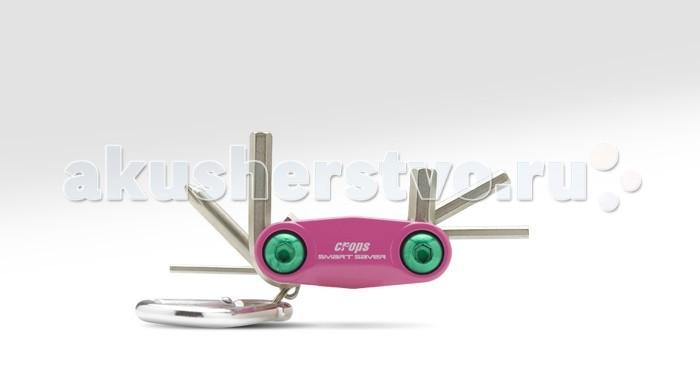 Crops Шестигранный ключ S.Saver SSV-SШестигранный ключ S.Saver SSV-SCrops Шестигранный ключ S.Saver SSV-S - создан специально для юных райдеров! Взрослые тоже будут приятно удивлены качеством и дизайном!  Маленький и легкий – отличный выбор для городских велосипедистов.   Включает в себя 6 шестигранников: 2 мм, 3 мм, 4 мм, 5 мм, 6 мм и крестовую отвертку.   Оснащен легким алюминиевым карабином.<br>