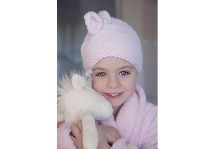 CuddleDry Полотенце для волос с окантовкой Горошек