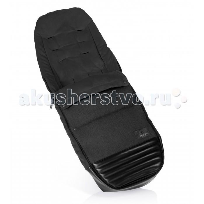 Демисезонный конверт Cybex на ножки для Priamна ножки для PriamНакидка на ножки Cybex Priam надежно защитит малышей в прохладную погоду от ветра, дождя и холода.   Водоотталкивающий внешний материал и внутренний подклад из флиса создадут комфортное нахождение ребенка в коляске.   Крепится накидка с помощью ремней безопасности коляски (для ремней предусмотрены прорези) и фиксации кнопками отворота накидка вокруг бампера.  Материал: выполнена из высококачественных, современных материалов, с водоотталкивающей пропиткой; подкладка - флис. Возможна стирка в деликатном режиме при температуре воды в 30 градусов<br>