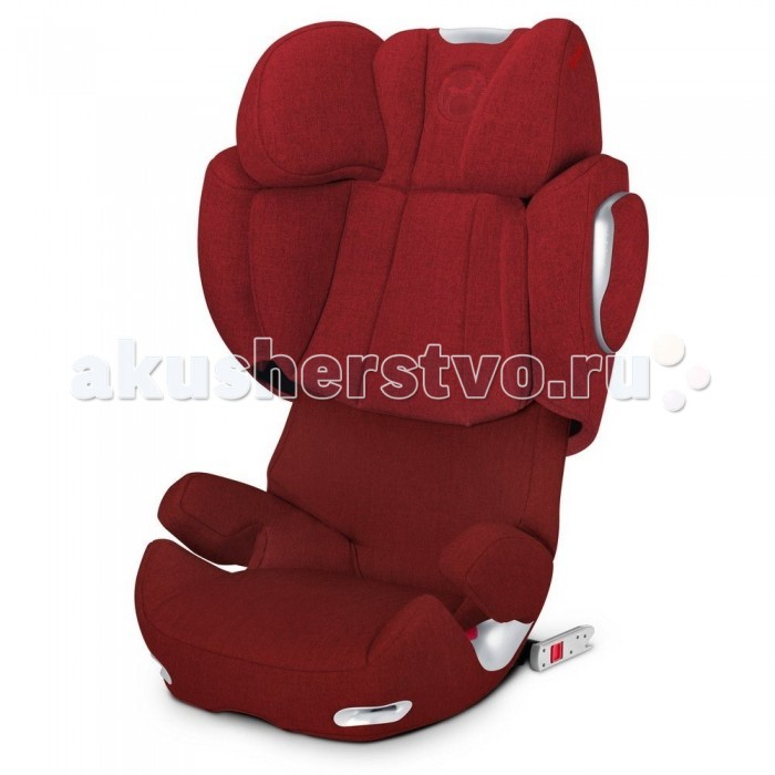 Автокресло Cybex Solution Q2-FixSolution Q2-FixCybex Solution Q2-Fix - новое и уникальное кресло попадает под группу 2-3 и может использоваться детьми весом от 15 до 36 килограмм. Как правило, это детки от 3 до 12 лет. Прочные материалы, оригинальный дизайн и полная безопасность по достоинству будут оценены и детьми, и родителями. Эргономичное автокресло имеет предусмотренную боковую защиту, которую можно вместе с подголовником регулировать в пределах 11 положений. Подголовник можно изменять по глубине для отдыха во время путешествия. Также спинку можно немного отклонять для комфортного сна. Ребенок закрепляется в автокресле обычным автомобильным ремнем. Также в кресле предусмотрены крепления Isofix, которые могут использоваться в любой модели автомобиля. Кресло оснащено специальной системой вентиляционных отверстий, которые поддерживают здоровый микроклимат. Чехол сделан из мягкого, комфортного материала, который нужно стирать в машинке-автомате в прохладной воде. Модель можно приобрести в широком цветовом ассортименте. Кроме того, автокресло полностью соответствует европейским стандартам.  Сидение: относится к группе 2/3 и предназначено для перевозки детей в автомобиле весом от 15 до 36 кг соответствует европейскому стандарту безопасности ECE-R44/04 защита от боковых столкновений - новое приспособление для регулировки ширины функционирует вместе с системой L.S.P. Plus – оптимизированной системой боковой защиты. Сила бокового столкновения таким образом снижается за счет дополнительных подушек безопасности, а также защиты головы и плечевого отдела. В то же время кинетическая энергия тела при ударе сразу же поглощается, а голова тут же закрепляется в безопасном положении высоту и ширину сидения можно регулировать с помощью ручного механизма и 11 возможных положений. Сидение можно вытянуть на 8 см в ширину и 20 см в высоту для комфортного отдыха во время поездки и максимальной защиты от бокового удара в автокресле предусмотрен 3-позиционный подголовник. Благодаря регу