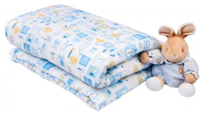 Одеяло Daisy 110х140 см + пододеяльник110х140 см + пододеяльникОдеяло + пододеяльник 110х140 см Слоники Daisy  Одеяла с наполнителем из силиконизированного волокна Экософт гипоаллергенны и очень практичны.   Их можно стирать в машинке и даже после многих стирок, они не потеряют свой объем и качество. А красивые детские рисунки порадуют малышей и их родителей.  Размер одеяла: 110х140 см Размер пододеяльника: 110х140 см  Состав: 100% хлопок (Бязь)  Наполнитель: гипоаллергенное волокно Экософт<br>