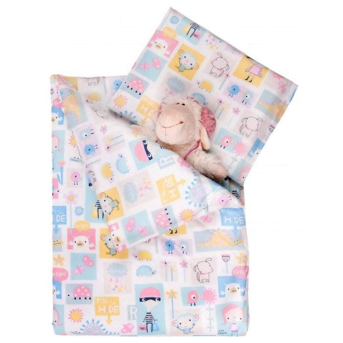 Постельное белье Daisy (3 предмета) малый(3 предмета) малыйНежный комплект постельного белья в кроватку Слоники из 3 предметов станет настоящим украшением любой детской и подарит малышу много сладких снов.   Белье выполнено из 100% хлопка (бязь)  Комплектация: Наволочка: 40х30 см Простыня: 105х150 см Пододеяльник: 75х100 см<br>