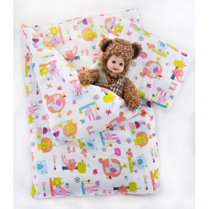 Постельное белье Daisy (3 предмета) Стандарт(3 предмета) СтандартНежный комплект постельного белья в кроватку Слоники из 3 предметов станет настоящим украшением любой детской и подарит малышу много сладких снов.   Белье выполнено из 100% хлопка (бязь)  Комплектация: Наволочка: 40х60 см Простыня: 105х150 см Пододеяльник: 110х140 см<br>
