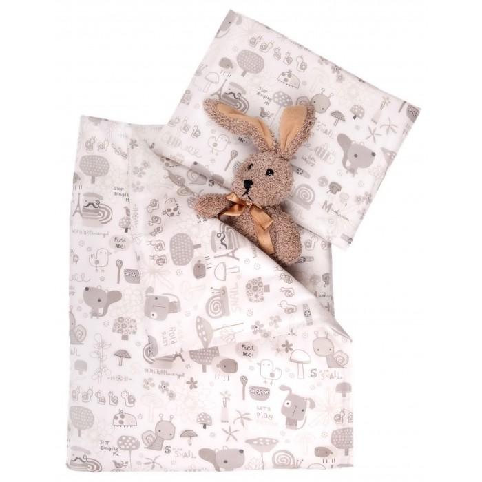 Комплект в колыбель Daisy (4 предмета)(4 предмета)Нежный комплект постельного белья Слоники из 4 предметов станет настоящим украшением любой коляски или кроватки-люльки.   Белье выполнено из 100% хлопка (бязь) Одеяло и подушка: Верх - 100% хлопок (бязь белая) Наполнитель: гипоаллергенное волокно Экософт 100% п/э  Комплектация: Наволочка: 25х30 см Пододеяльник: 75х90 см Одеяло: 75х90 см Подушка: 25х30 см<br>