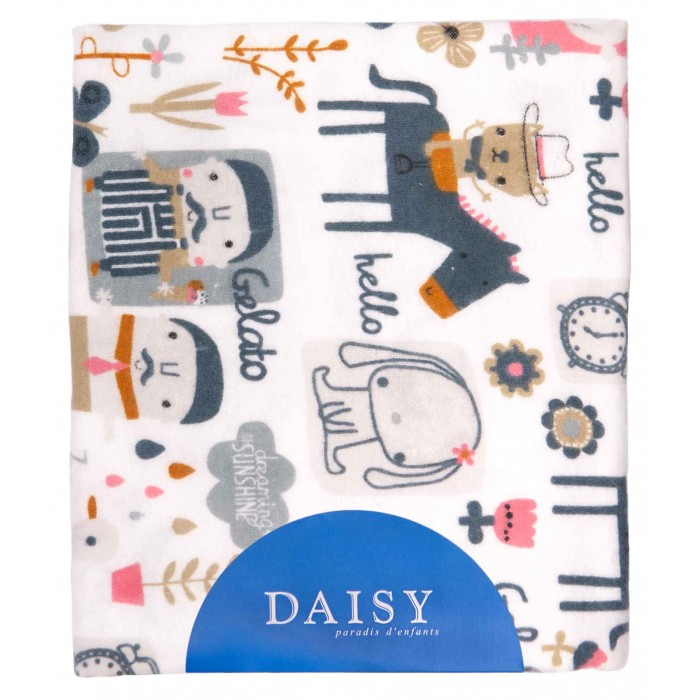 Пеленка Daisy фланель 90х150 см