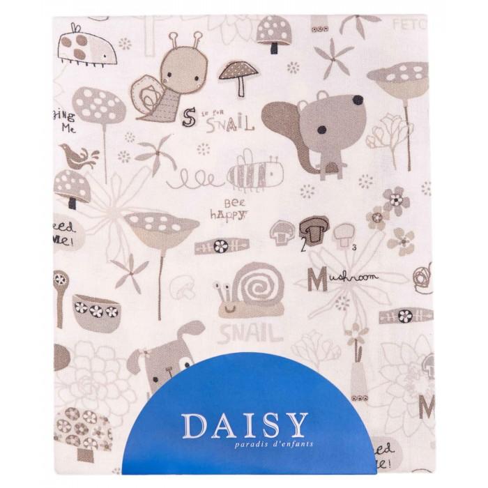 Пеленка Daisy перкаль 75х120 смперкаль 75х120 смКрепкий сон малыша всегда в радость. Чтобы ваш ребенок чувствовал себя тепло и уютно в своей кроватке или в коляске, Daisy сшили мягкие и красивые детские пеленки из лучших тканей.   Взяв такую вещь однажды в руки, вам уже не захочется иметь что-то другое. Ведь продукция Daisy – это не просто высокое качество. Это: Безопасность. Все товары сертифицированы, а шьются они из гипоаллергенных натуральных тканей. Такие материалы приятны на ощупь, они позволяют коже малыша дышать, поддерживают комфортную температуру. Приятные ощущения. Вы будете пеленать малыша в мягкую ткань, позволяющую коже дышать и поддерживающую комфортную температуру. Всегда выгодные цены. Отечественное производство.  Пеленка предназначена для использования во время смены памперса, гигиенических процедур или посещения детских учреждений.  Тонкие пеленки сшитые из натурального материала, на основе 100% хлопкового волокна. Могут использоваться как простыни в кроватку или коляску, а также как нежное полотенце после купания. Добрые детские рисунки, специально разработанные нашими специалистами поднимут настроение и детям, и родителям.   Материал - 100% хлопок.  Размер 75х120 см.<br>