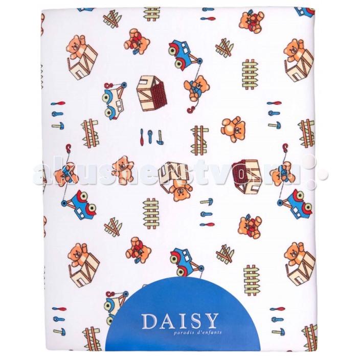 Одеяло Daisy трикотажное 75х90трикотажное 75х90Мягкое и практичное трикотажное одеяло подарит комфортный и спокойный сон ребенку.  Отлично подойдет новорожденным к люльку, кроватку, коляску.  При производстве используются исключительно натуральные красители, поэтому детское постельное белье безопасно и гипоаллергенно.  Размер 75х90 см  Состав: трикотаж (интерлок) 100% хлопок  Наполнитель: гипоаллергенное силиконизированное волокно Экософт 100 п/э<br>
