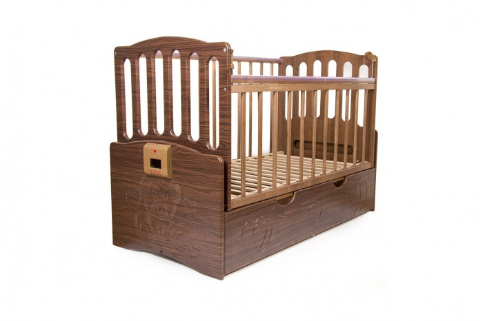Детская кроватка Daka Baby Укачай-ка 03 (поперечный маятник)