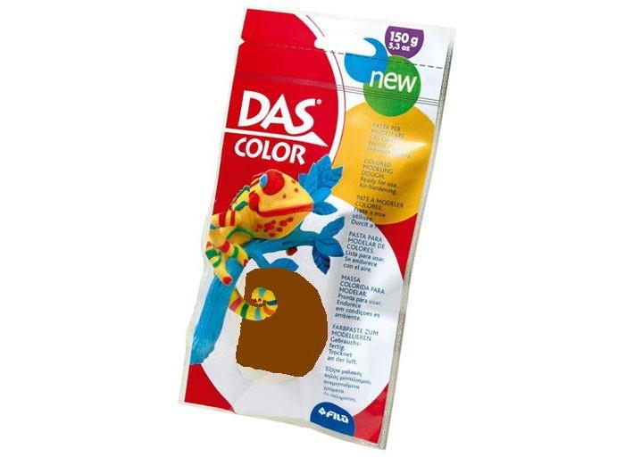 Das Паста для моделирования 150 гПаста для моделирования 150 гDas паста для моделирования, 150 г.  Натуральная паста для моделирования. Затвердевает на воздухе. Не требует обжига, в составе натуральная глина. Яркие цвета. Готова к использованию. Готовые изделия можно покрывать лаком и раскрашивать дополнительно фломастерами, красками. Каждая упаковка содержит буклет с идеями для творчества.   Упаковка 150 г<br>