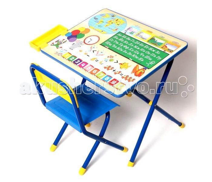 Дэми Набор мебели №1 ГлобусНабор мебели №1 ГлобусНабор мебели Дэми №1 Стол+Стул Глобус Предназначен для дошкольных занятий для детей от 1,5 года. Рост: 1150/1300 мм. Поверхность столешницы ламинированная, его легко чистить, мыть.  На столешницу нанесен красивый яркий обучающий рисунок, он позволяет Вашему малышу ознакомится с миром цифр, букв. За данным столом ребенок может заниматься лепкой, чтением, рисованием, даже просто играть. Столик и стул легко складывается, убирается.<br>