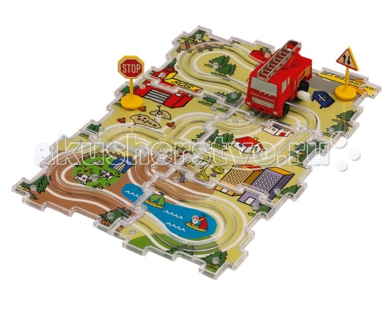 Dickie City Track Set