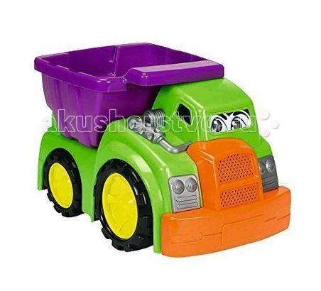 Dickie Машинка Happy CityМашинка Happy CityВеселая машинка Dickie Happy City станет прекрасным первым транспортном для малыша.   Особенности:    Каждая машинка очень красочная и обязательно сразу же привлечет внимание малыша.   На передней стороне машинки есть наклейка с большими выразительными глазками.  В кузов грузовика можно положить небольшие игрушки, кубики, которые помогут малышу в строительстве игрушечных городов.  Пластик, из которого сделана игрушка, очень прочный, не выгорает и совершенно безопасен для детей.   Размер: 27 см<br>