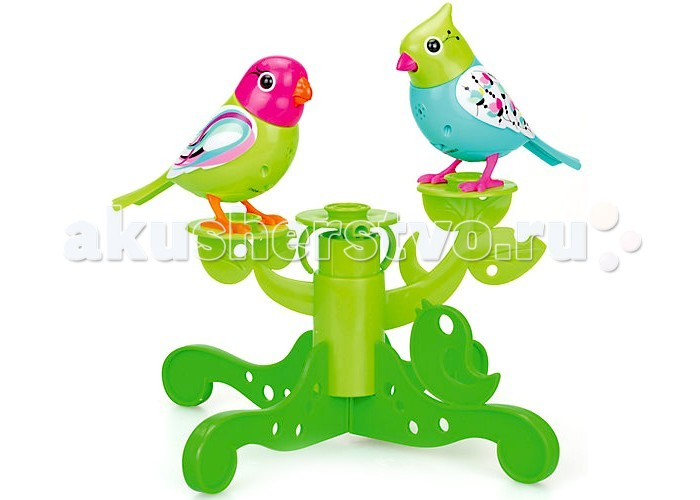 Интерактивная игрушка Digibirds Две птички с деревом
