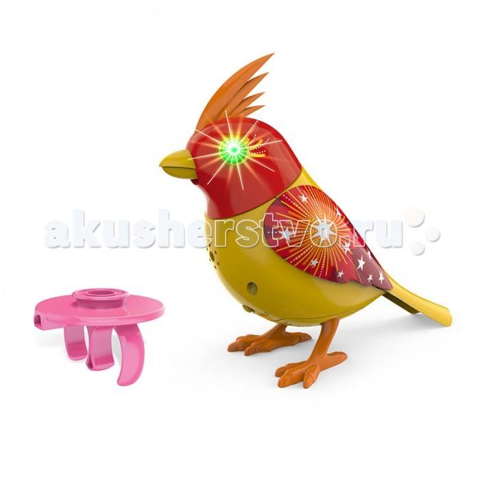 Интерактивная игрушка Digibirds Птичка с мерцающими глазами