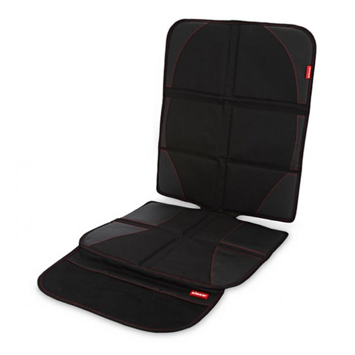 Diono Чехол для автомобильного сиденья Ultra MatЧехол для автомобильного сиденья Ultra MatЧехол для автомобильного сиденья Ultra Mat  Две части чехла позволяют особо тщательно отрегулировать установку детского автомобильного кресла, защищает сиденье автомобиля от возможных царапин.  Особенно рекомендуется для защиты кожаных автомобильных сидений.  Подходит для автомобильных кресел с системой ISOFIX и для любых автомобилей.  Удобный карман расположен на передней части чехла для хранения игрушек и других мелочей.  Регулируемый ремень в верхней части чехла надёжно закрепляет его на месте.  Водонепроницаемая ткань, можно стирать.<br>