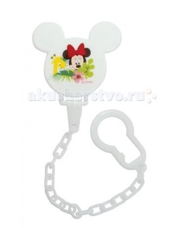 Disney Baby Клипса на цепочке Микки и Минни 13611