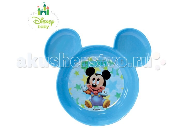 Disney Baby Тарелка Микки 13632
