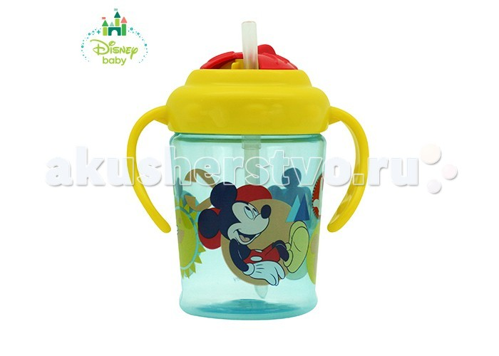 Бутылочка Disney Baby Микки и Минни с 6 мес. 250 мл