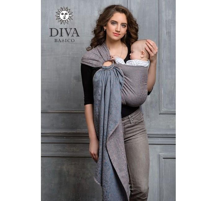 Слинг Diva Milano Basico с кольцами, хлопок МBasico с кольцами, хлопок МСлинг с кольцами Diva Milano Basico - мягкий, нежный шарф, особенно приятен для новорожденных и деток до года.  Diva Basico - это отдельная линейка итальянского бренда Diva Milano с базовыми характеристиками по доступной цене, произведенная в России по международным стандартам!  Diva Basico - это: прекрасные дизайны от итальянских дизайнеров компании  большой выбор расцветок универсальные характеристики (ткань средней толщины, быстро мягчеет после стирки и непродолжительной носки)  отличное качество (Diva Basico производятся на крупной российской фабрике на прекрасном современном оборудовании) доступная цена  Ткань слинга средней толщины, требует небольшого разнашивания, универсален, подходит для всех возрастов.  Края слинга - подшитые. Состав: 100% хлопок Размер: М (44-46)<br>