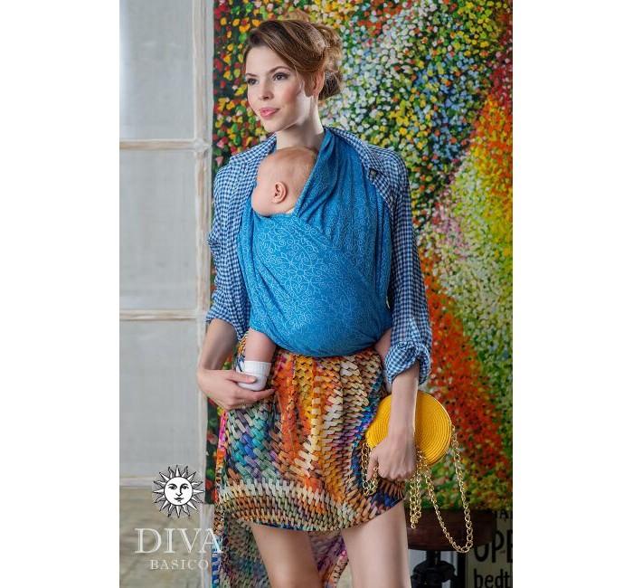 Слинг Diva Milano Basico шарф, хлопок (4.7 м)