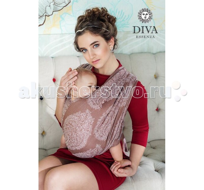 Слинг Diva Milano Essenza шарф, хлопок (4.2 м)