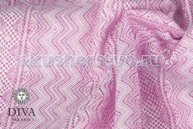Слинг Diva Milano шарф, хлопок (5.2 м)шарф, хлопок (5.2 м)Слинг-шарф Diva Milano - мягкий, нежный шарф, особенно приятен для новорожденных и деток до года.  Шарф из новой коллекции Diva Milano с новым рисунком: мелкий рисунок и особое двойное плетение делает шарф толстым, рыхлым и мягким, он обладает отличной поддержкой, так что подойдет и для очень тяжелого ребенка, и в то же время мягкий новым и не требует разнашивания. Идеальный универсальный вариант! Плотность 310 г/м2  Особенности слинга-шарфа Diva Milano: прекрасный дизайн от итальянских дизайнеров компании большой выбор расцветок универсальные характеристики (шарф мягкий новым благодаря специальной механической обработке, но средней толщины, так что его можно использовать и с новорожденным, и с подросшим ребенком) отличное качество   Края слинга - подшитые. Состав: 100% египетский хлопок Размер: 5.2 м  Египетский хлопок - это самый лучший и самый дорогой сорт хлопка - длинноволокнистый, его обычно используют для производства одежды или постельного белья класса люкс. Благодаря длинным и тонким волокнам такой хлопок не скатывается в катышки, из него получаются легкие, но крепкие, шелковистые и мягкие нити. При надлежащем уходе слинги из египетского хлопка прослужат несколько десятилетий, что оправдывает более высокую цену ткани.<br>