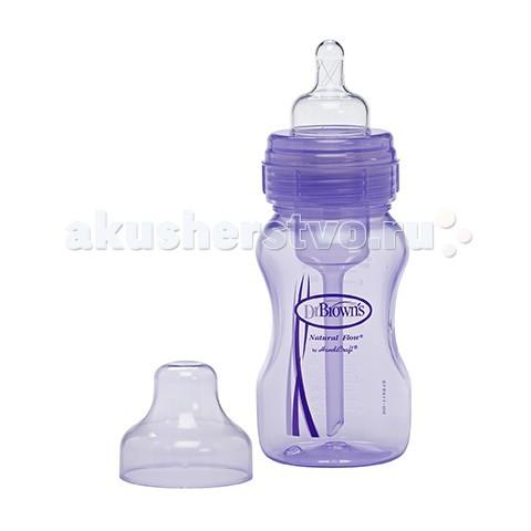 Бутылочка Dr.Brown's широкое горлышко, полипропилен 240 мл