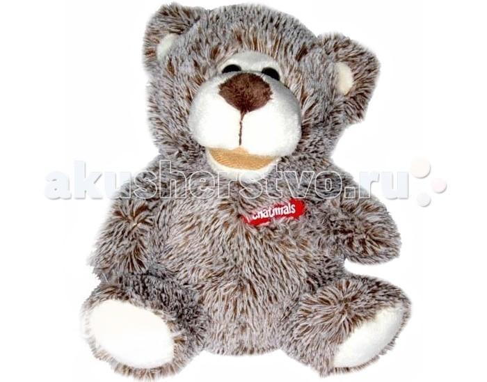 Интерактивная игрушка Dragon Медведь повторюшкаМедведь повторюшкаИнтерактивный Медведь повторюшка станет лучшим другом Вашего малыша.  Нажмите на левую лапку и, после того как загорится красная лампочка, начинай говорить. Медведь запоминает 30 секунд речи, а потом воспроизводит её, говоря при этом смешным мультяшным голосом.  Если же лампочка продолжает гореть, а воспроизведения нет то самое время сменить батарейки. Для работы игрушки требуются 3 батарейки типа «ААА».  Материал: металл, текстиль, пластмасса.  Погладь Мишку по голове – услышишь забавные звуки. Игрушка упакована в красочную картонную полуоткрытую коробку. Размер упаковки: 14,5х11,5х20 см<br>