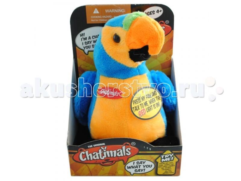 Интерактивная игрушка Dragon Попугай-повторюшка 80092B