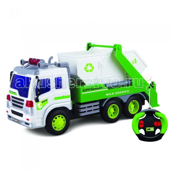 Driver Drift Грузовик-контейнерный мусоровоз на радиоуправленииDrift Грузовик-контейнерный мусоровоз на радиоуправленииDriver Drift Грузовик-контейнерный мусоровоз на радиоуправлении- отличный подарок для юного поклонника автомобилей!  Уникальный дизайн Основные функции управления: движение вперед-назад, поворот вправо-влево Световые эффекты Подвижные детали Масштаб: 1:16 Машина работает от 3-х батареек 1,2V типа «АА» (в комплект не входят) Пульт управления работает от 2-х батареек 1,5V типа «АА» (в комплект не входят).<br>